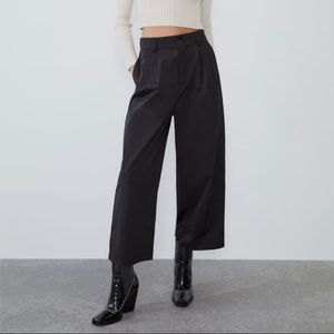 Zara technical fabric pants